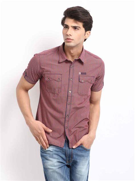 Baju Kemeja Cowok Pria Murah Polo Pendek Distro Model Trendy Terbaru baju kemeja pria polos imagesargwork