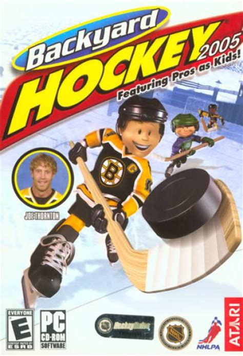 backyard hockey backyard hockey 2005 game giant bomb