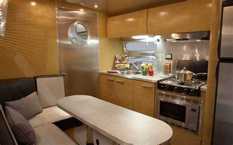 Airstream Interior Design by Custom Airstream Interior 10 Rv Living