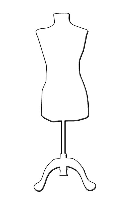 design mannequin template 1000 images about templates on envelope