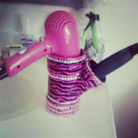 Dryer And Hair Straightener Holder straightener holder hair dryer and duct on