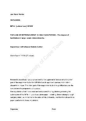 retrenchment letter template amazing retrenchment letter south africa exle for your