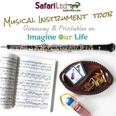 Instrument Giveaway - safari ltd musical instruments giveaway free montessori printables imagine our life