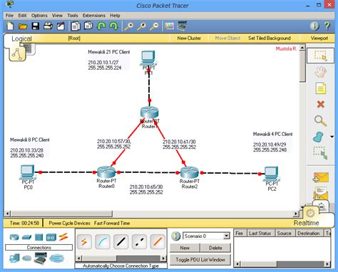cisco packet tracer tutorial subnetting subnetting tutorial in packet tracer tutorial konfigurasi