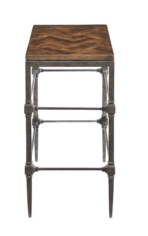 Small Chair Side Table Small Chairside Table With High Metal Legs And Square