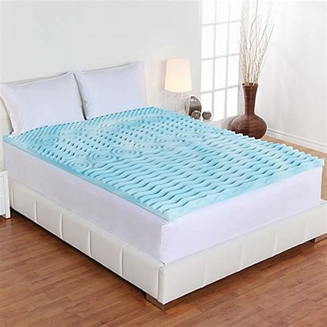 bed bath and beyond mattress topper fresh rx 174 orthopedic 2 inch foam mattress topper bed