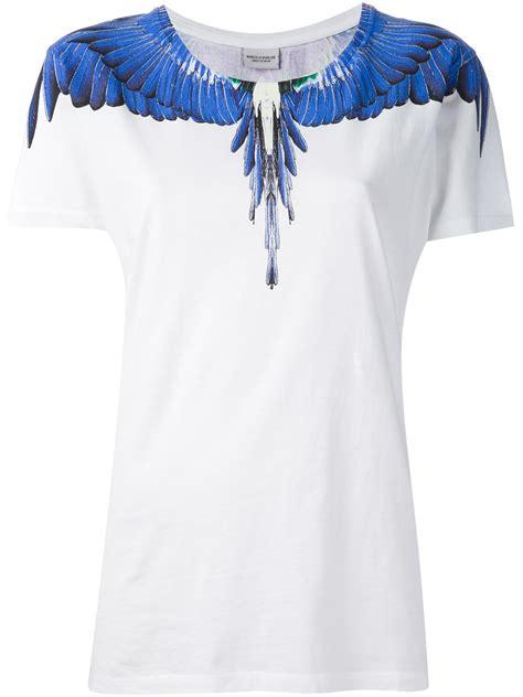 Air T Shirt Wings marcelo burlon wing tshirt in blue lyst