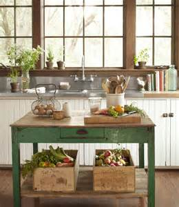 Country Kitchen Island Ideas diy kitchen island decorating envy