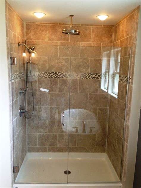 shower ideas for small bathrooms best 25 stand up showers ideas on pinterest master