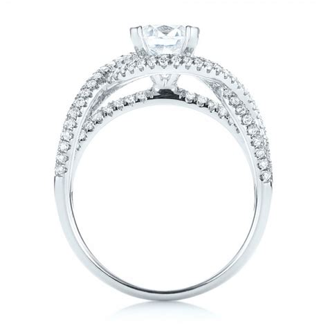 intertwined engagement ring 103080