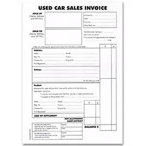 Used Car Estimate Usa Used Car Sales Invoice Pad Atack Ltd