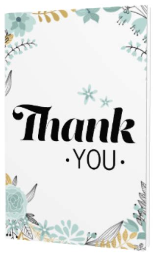 thank you card template for employees free templates for corporate thank you cards