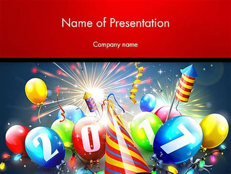 powerpoint happy new year template happy new year 2017