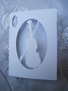 violin pop up card template violin pop up card template from hiroko ebook nana