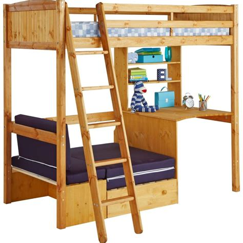 Classic High Sleeper With Sofa Bed Classic Top Offers On Metal Wooden Cabin Beds Loft Beds