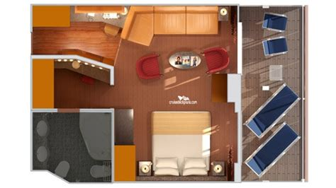 carnival cruise suites floor plan carnival legend ocean suite quad floor plan thefloors co