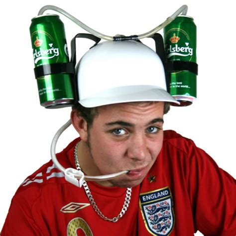 How To Make A Soda Hat Out Of Paper - helmet hat can holder helmet with straw