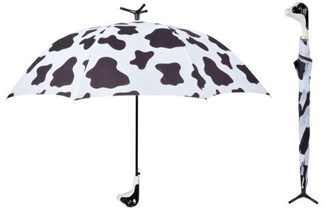 Cow Pattern Umbrella | black white cow umbrella with stand brolly automatic