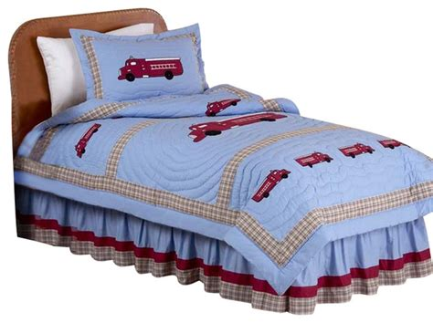 fire truck bedding fire truck bedding set twin 4 piece contemporary
