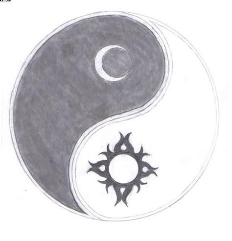 sun moon yin yang tattoo designs sun moon yin yang sketch ideas to create