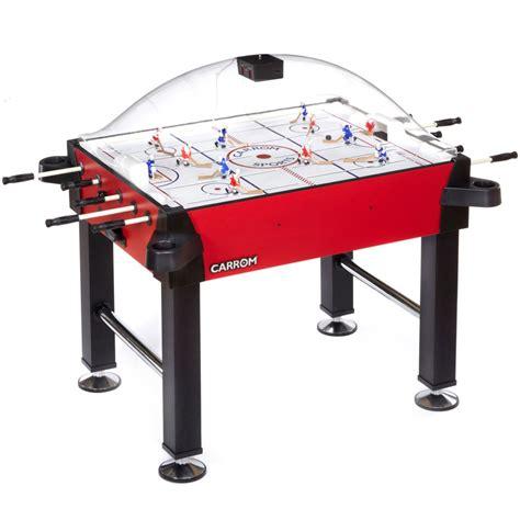 carrom elite stick hockey table carrom signature stick rod hockey table w legs table