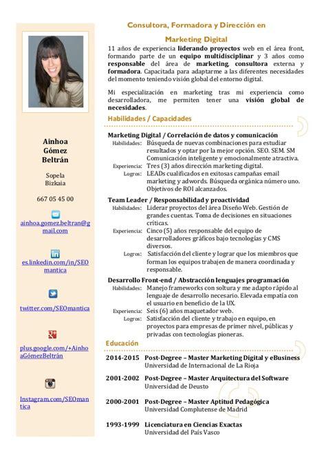 Modelo Curriculum Vitae Uruguay Curriculum Vitae