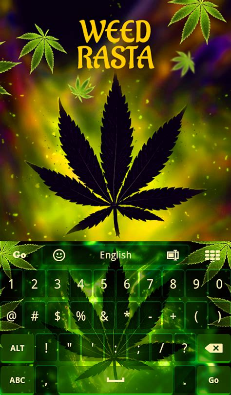 go keyboard themes rasta weed rasta keyboard android apps on google play