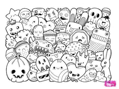 3 doodle coloring pages zeichnen zeichnungen und malen