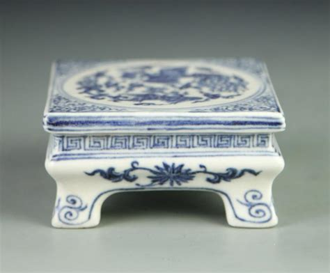 ink bed chinese blue and white ink bed