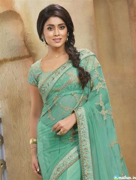 shriya sareeblousefashioncom shriya saran fashion saree collection shriya saran saree