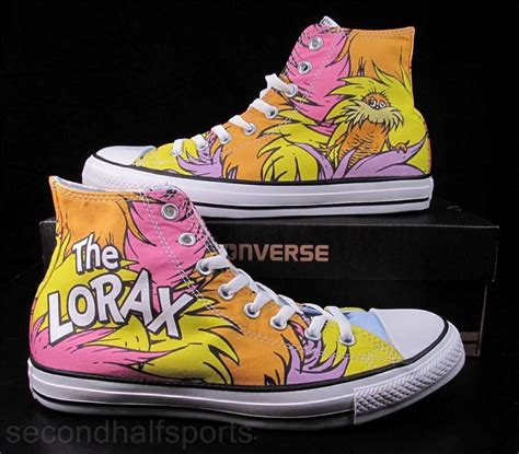 Converse Dr Seuss The Lorax Shoes Toodler converse dr seuss the lorax chuck all sneakers shoes 141870c ebay