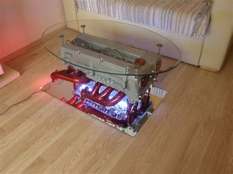 Top Gear Coffee Table Halfcut