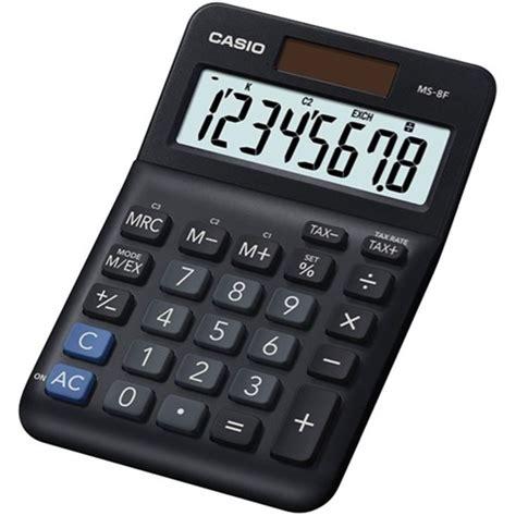 casio ms  desktop calculator biz style black officemax nz