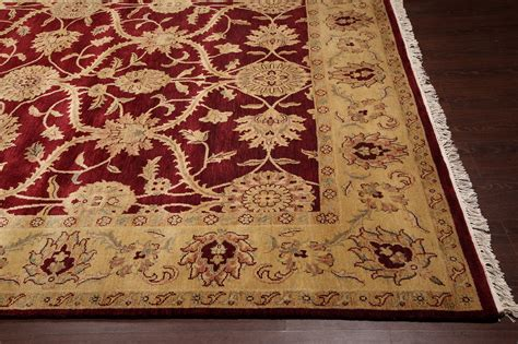 traditional rugs wool rugsville traditional wool gold rug 8 x 10 rugsville shopping great deals on