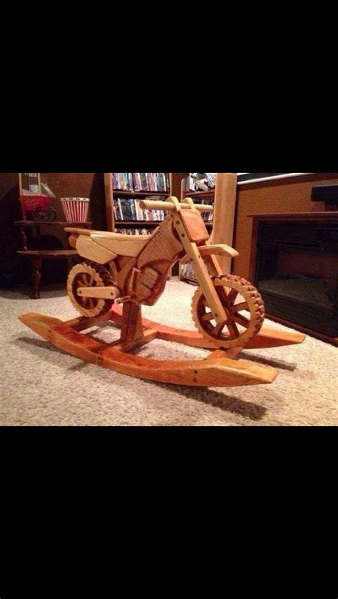 plans  motorcycle rocking horse woodworking projects