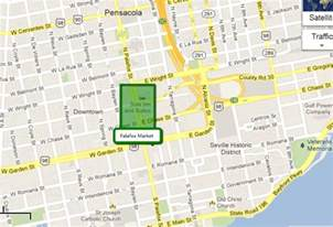 to live in pensacola florida the palafox market in