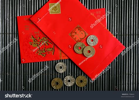 new year coin envelopes envelopes coins new year stock photo 2708662