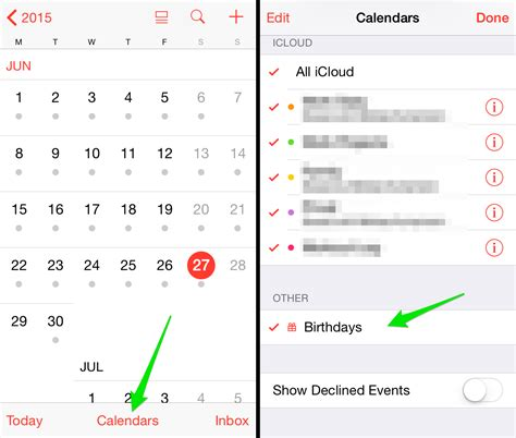 How To Iphone Calendar How To Set Birthday Alerts On Your Iphone