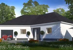construction plain pied avec habitat concept