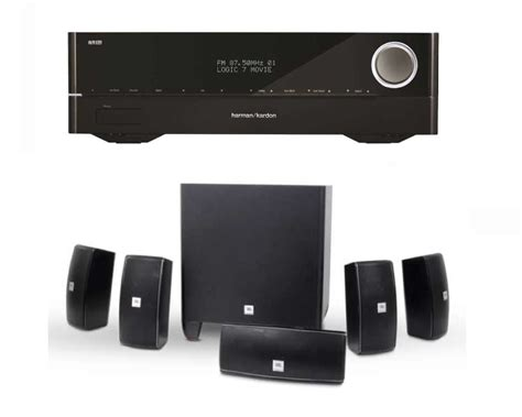 jbl cinema 610 speakers avr161 home threater system in pa