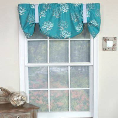 Turquoise Valances For Windows Inspiration Buy Turquoise Window Valance From Bed Bath Beyond