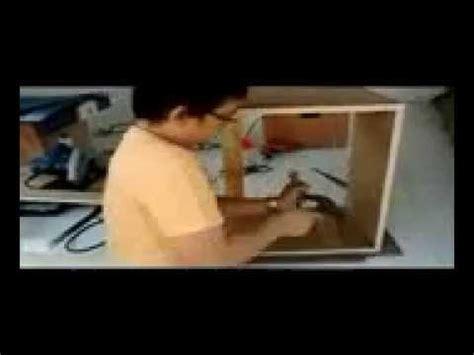 Gergaji Potong Kayu pembuatan meja gergaji mesin sederhana