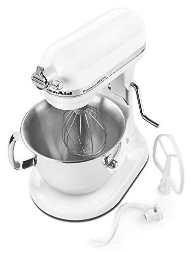Kitchen Aid 6000 Hd by Kitchenaid Professional 6000 Hd Ksm6573cwh Stand Mixer 6 Quart White Zonhunt