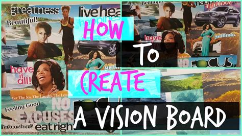 how to create a vision board one that how to create a vision board one that works