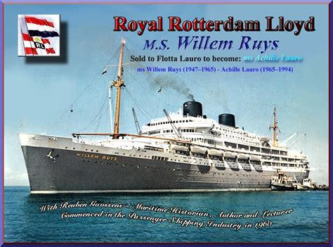 schip willem ruis willem ruys tourist class photo album