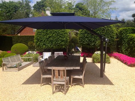 Large Patio Umbrellas by Piazza Side Arm Cantilever Garden Parasol