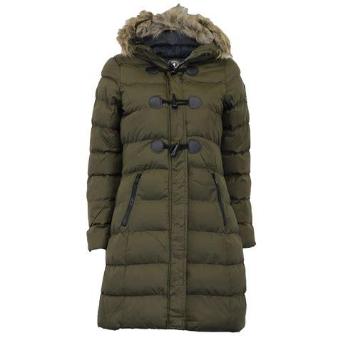Padded Hooded Coat parka jacket brave soul womens coat