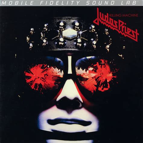 prist test test schallplatte judas priest killing machine mofi