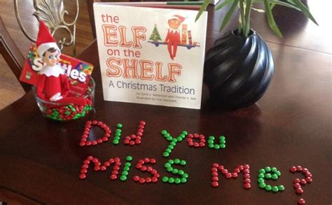 What Day Does The On The Shelf Return by On The Shelf Takes Photos