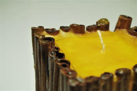 dpl candele candela realizzata con stecche di cannella candele